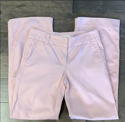 J CREW | Weathered Broken In Chino Pink Wide Leg Size 2 R