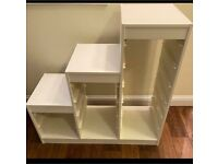 IKEA storage white frame