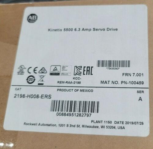 "Allen Bradley 2198-H008-ERS/A Servo Drive ""NEW"""