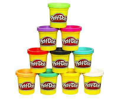 10 Pack Play-Doh Colors Kids Clay Fun Dough Exclusive Set Modeling Hasbro NEW