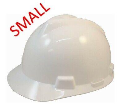 Msa V-gard Small Cap Style Hard Hat With Fas-trac Suspension - White