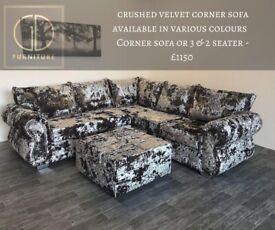 Corner & 3,2,1 seaters & armchairs