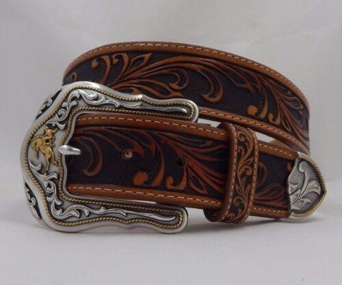 Tony Lama New WESTERLY RIDE Leather Belt  Size 40 NWT USA C41514