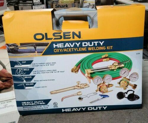 OLSEN Heavy-Duty Oxy/Acetylene Welding Kit 63394 BRAND NEW