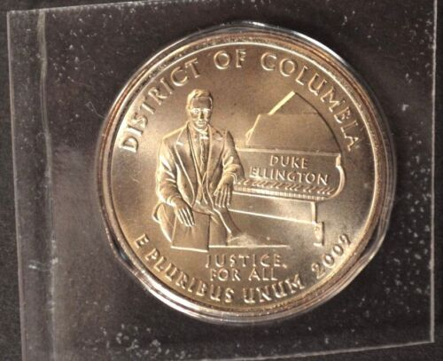 2009 D Washington DC ~ District of Columbia Satin Quarter VERY LOW MINTAGE
