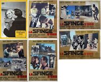 Lotto Fotobusta Anita Ekberg La Sfinge D'oro + International Police - inter - ebay.it
