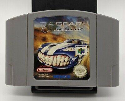 Top Gear Overdrive - N64 Nintendo 64 PAL EUR
