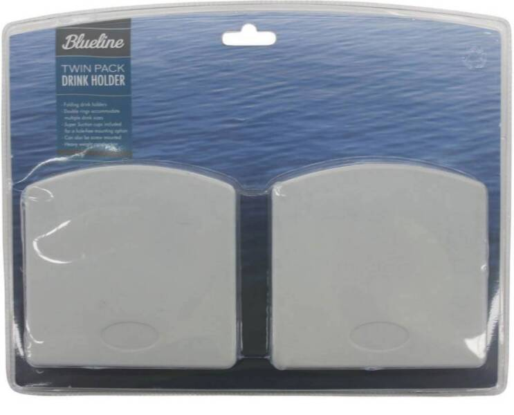 Blueline drink holders twin pack - Brand new | Fishing