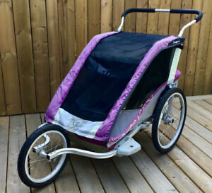 Chariot Cougar 2 - Running Stroller and Bike Trailer