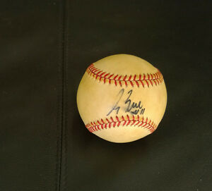 George Bell Autographed Baseball