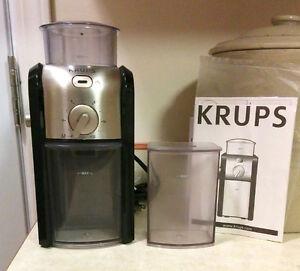 Krups burr grinder (GVX2 model)
