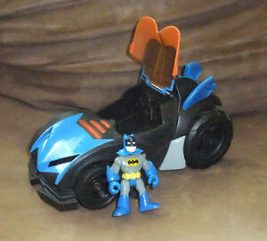 Imaginext DC Superfriends Batmobile by Fisher Price, 2009 West Island Greater Montréal image 1