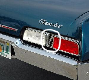 1967 Chevrolet Biscayne Tail Light Filler Plates Edmonton Edmonton Area image 1