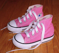 Baby Girls Pink Converse Size 8