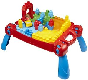 Mega Bloks Table w/ Lego