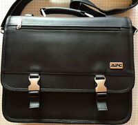 APC Black Messenger Style Laptop Computer Attache Case Regift