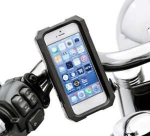 H-D WEATHER RESISTANT HANDLEBAR MOUNTED PHONE CARRIER