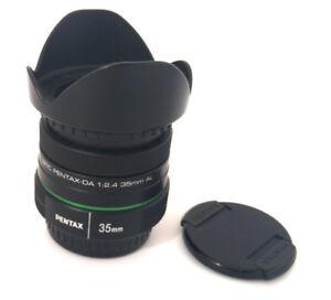 SMC Pentax DA 35mm F2.4 AL lens – EXC+++