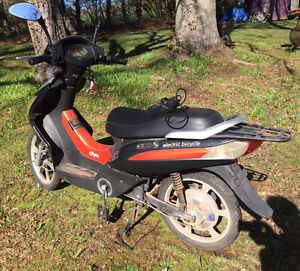 Used electric scooter