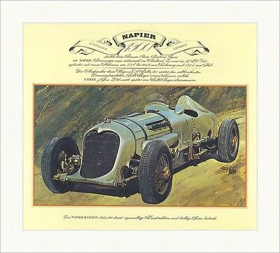Napier Railton 1933 England Rolls Royce 16PS Vierzylinder Motorsport Oldtimer 48