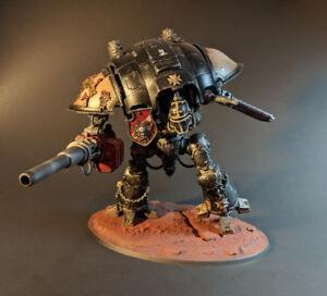 Black Templar Imperial Knight Warhammer 40k Pro Painted