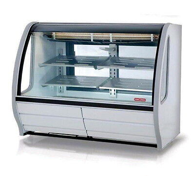 New 57 Refrigerated Display Case Nsf Torrey Pro-kold Ddc-60-w Bakery Deli 4951