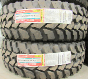 17 INCH TIRES. 2 OF THEM LT265-70-17 Thats 100% Tread These are