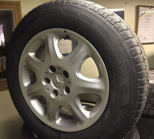 Mercedes Winter rims and tires - 16 in. Great condition!!!