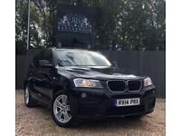 2014 14 BMW X3 2.0 XDRIVE20D M SPORT 5DR AUTO DIESEL