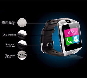Bluetooth Android Smart Watch/Facebook/Whatsapp/Simcard/Camera London Ontario image 6