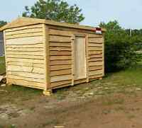 Lens rustic sheds and cabins