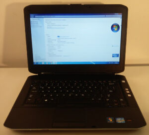 Dell Latitude business line 14-inch laptop Core i7 3.0 GHz