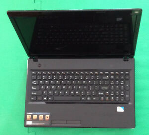 Lenovo G580 laptop with 15.6 inch screen