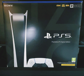 Sony PlayStation 5 (PS5) - Digital Edition Brand New Sealed