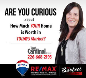 Wondering  how much your home is worth in today's market?