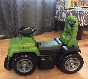 Lego ride on jeep