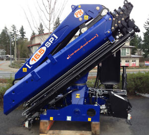 KNUCKLE BOOMS, OUTRIGGERS & PALLET FORKS