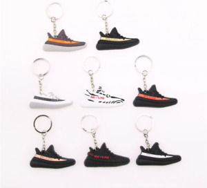 Various Yeezy keychains