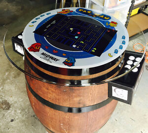 Wine Barrel Arcade Machine **500+ Games with warranty** Cambridge Kitchener Area image 10