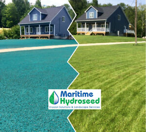 Maritime Hydroseed, Hydroseeding, Landscape Services