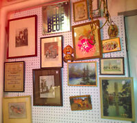 ★ Vintage Watercolors, Prints @ Forks Antique Mall ★
