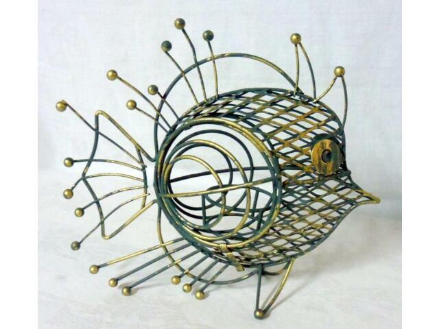Frederick Weinberg Eames Era Wirework Mid Century Modern Fish Sculpture