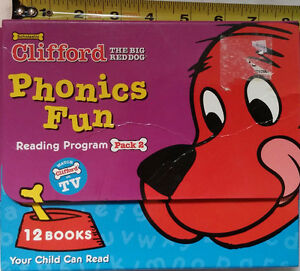 Clifford Phonics Fun Reading Program Pack 2 with 11 extra Books