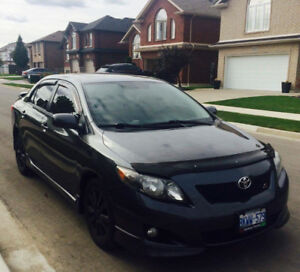2010 Toyota Corolla sport package Sedan in very good condition