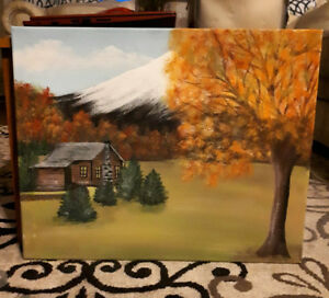 Paintings by local artist....make great Xmas gifts