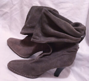 Ladies size 10 Grey Suede boots