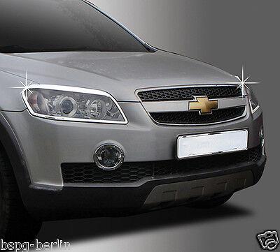 Chevrolet Captiva 2006-2010 Cromo Faro Marco Accesorios Tuning