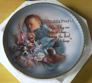 PRECIOUS BLESSING COLLECTOR PLATE FOR SALE