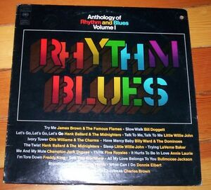 vinyl record album: Anthology of Rhythm and Blues Volume 1