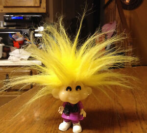 """SNAPY""1993 KIDS CLUB TROLL DOLL COLLECTIBLE BURGER KINGS"